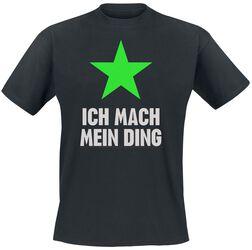 """Ich mach mein Ding Shirt """"Grüner Stern"""""""